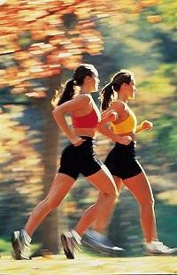 2 Joggerinnen